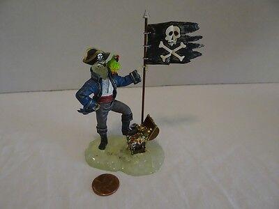 Dept 56 Halloween Captain Black Bart's Ghost 55149 Treasure Chest Snow - Halloween Bart