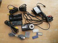 Sony Cyber-Shot Black Digital Camera