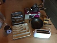 VARIOUS KITCHENWARE ITEMS - EXCELLENT CONDITION