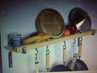 Taylor and NG wall mounted pot rack