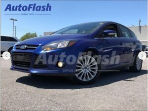 2012 Ford Focus Titanium *Navigation* Cuir/Leather *Toit/Roof*