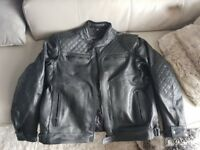 "RKSports Leather Motorbike Jacket 6XL(54""-56"")"