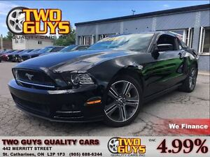 2013 Ford Mustang V6 PERFORMANCE PKG 19ALLOYS STICK