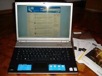 LAPTOP SONY VGN-FZ21E INTEL CORE 2, 2GB 160GB WINDOWS 7 COMPLETE WITH CHARGER BARGAIN