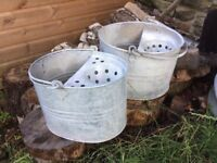 Galvanised mop bucket wanted must be rust free & vgc local to newport gwent