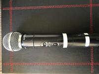 Sm 58 wireless just mic