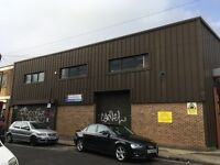 2000 - 4000ft2 warehouse in Hackney available immediately