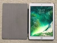 Apple iPad Air 2 64GB Gold with black case in AS NEW condition. Latest model MH182B/A