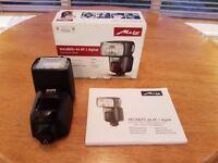 Flash Gun METZ Mecablitz 44 AF-1 Digital electronic flash speedlight unit (Mint - as New)