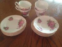 Winston bone china England 22 KT. Gold.