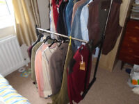 GENTS NEW and USED CLOTHING, SHIRTS, SUIT, FLEECE, JACKETS, BELTS, CARDIGANS, L to 3XL