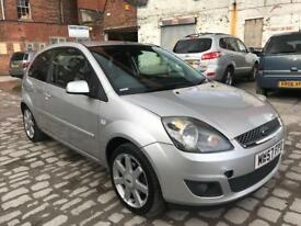 FORD FIESTA 1.2 ZETEC 3DR MOONDUST SILVER 2007 1 OWNER 2 KEYS FULL SERVICE