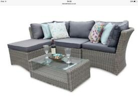 5 piece Rattan Furniture set