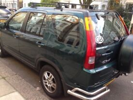 HONDA CR-V 2002 auto very good condition and drives very well and smooth full history&hpi clear