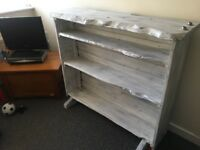 Beautiful Shabby Chic Solid Wood Bookcase