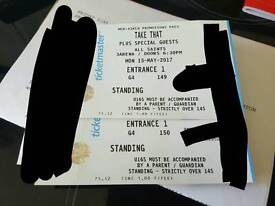 2 take that standing tickets