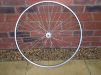 Bicycle Front Wheel - 36h Mavic rim for tubular tyres. Shimano 600 hub