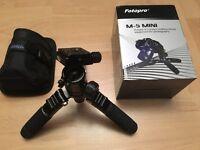 OTOPRO M-5 Mini Travel Portable Tripod & FPH-53P Ball head For DSLR Camera like Manfrotto Canon Sony