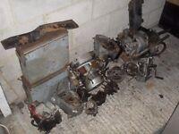 old Velocette le engines panniers parts