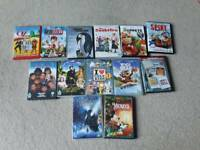 13 kid's DVDs - Mrs Doubtfire, Muppets plus more
