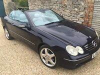 Mercedes CLK320 Convertible *TOP SPEC*BARGAIN*FULL SERVICE HISTORY*12 MONTHS MOT*QUICK SALE