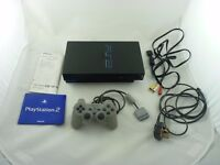 PLAYSTATION 2 WITH OFFICIAL CONTROLLER BOX AND INSTRUCTIONS - EXCELLENT CONDITION