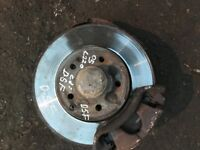 05 MERCEDES C220 FRONT HUB BOTH SIDE AVALIABLE EACH £30 POUND