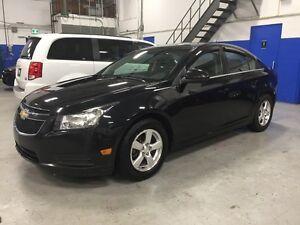 2012 Chevrolet Cruze LT TURBO - REMOTE  START - ALLOYS - BLACK B