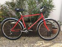 Saracen rufftrax 17 inch mountain bike very good condition