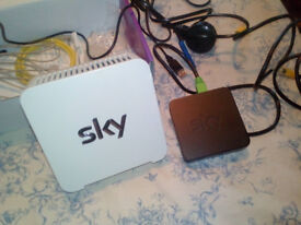 sky wireless connector and sky router