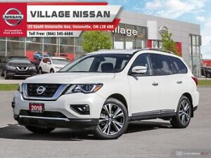 2018 Nissan Pathfinder Platinum DEMO|NO ACCIDENTS|DVD|LEATHER...