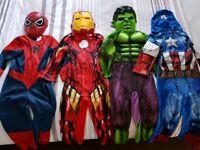 Marvel costumes 3-4