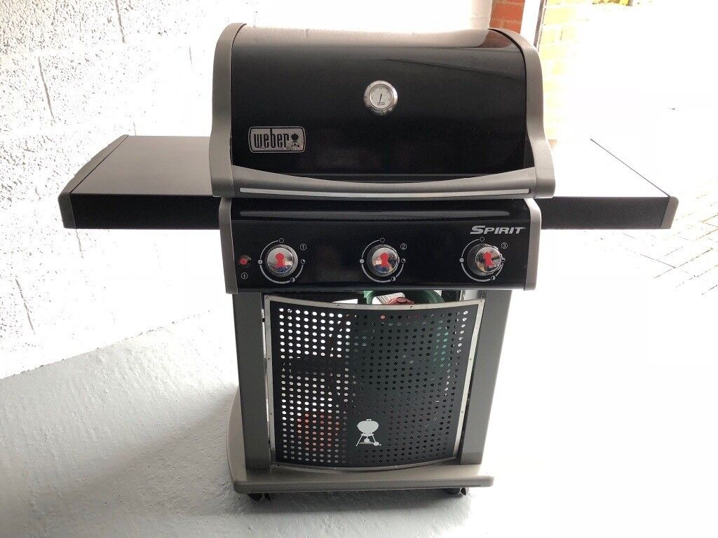 weber spirit original e-310 gas barbeque in as new condition | in