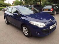 2011 RENAULT MEGANE EXP DCI ECO, 1.5 DIESEL, £20 ROAD TAX, HPI CLEAR, FINANCE AVAILABLE