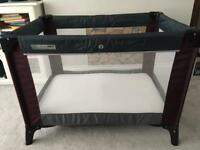 Mamas & Papas Travel cot & mattress