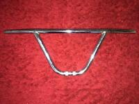 Used Oldschool BMX chrome handle bars