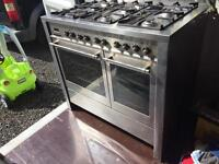 Caple Range Twin Oven Stainless Steel