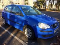 Volkswagen Polo 1.2 5 dr Hatchback Long MOT and Low Mileage