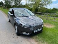 Ford Focus 1.0 TITANIUM 5d 125 BHP - SAT NAV, SENSORS, CLIMATE