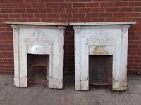 3 Small Cast Iron Bedroom Fireplaces