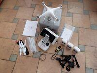 Phanton 4 DJI Drone. 4K, 12 mega pixel camera. Excellent condition.