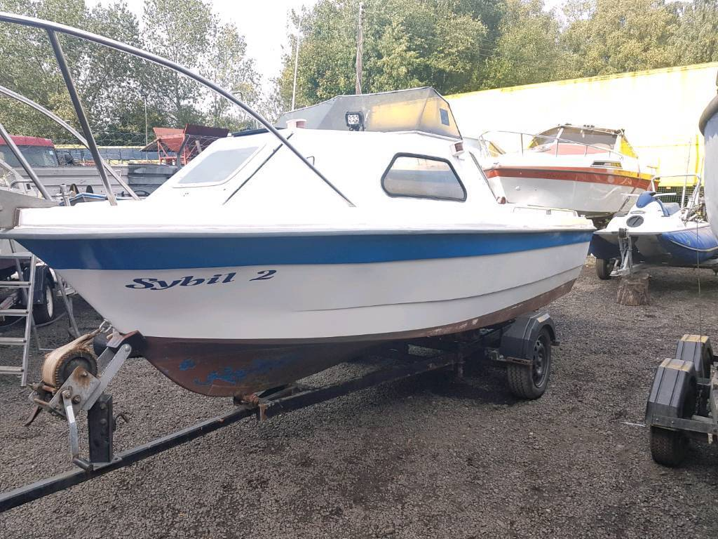 Picton 17 ft fast fisher with 60 johnson