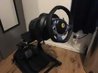Thrustmaster tx 458 steering wheel and stand