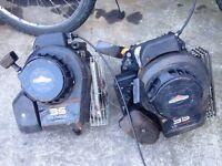 2 x lawn mower engines