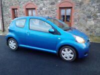 2010 Toyota AYGO Blue, 1.0 VVTI, , 3 doors, £20 tax