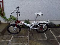 Folding bicycle compas central 7 speed