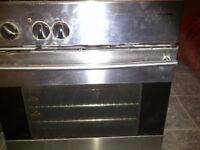 Standard sized Beko under counter electric fan oven