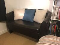 Two Seater Tub Settee / Sofa - Excellent Condition