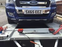 Brand new towing lift with brakes and winch