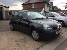 RENAULT CLIO 1.4 EXPRESSION MOT MARCH 2018